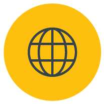 Icon for globe